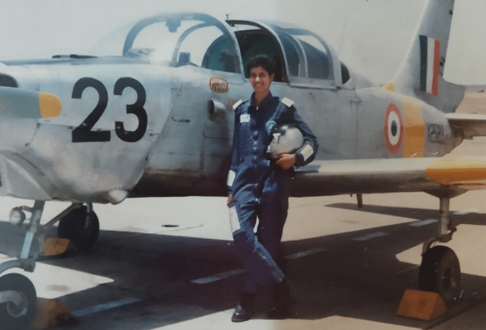 Sreevidya Rajan was Gunjan Saxena's course mate during the IAF days.