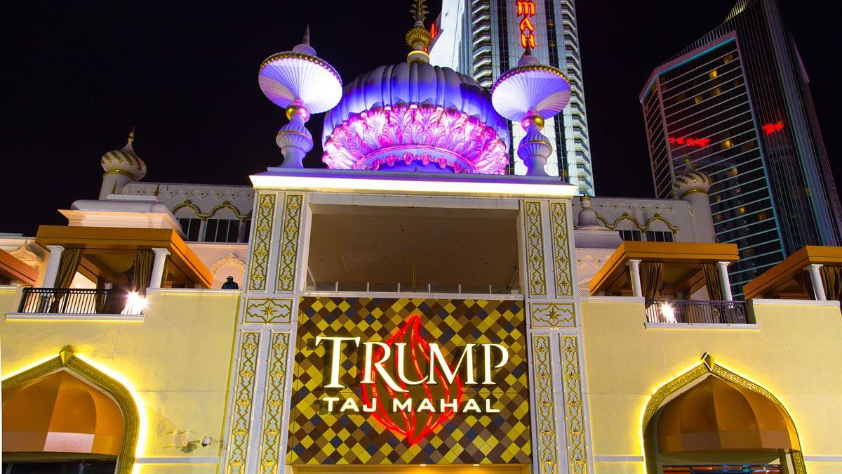 The Trump Taj Mahal, a casino at the Atlantic City.