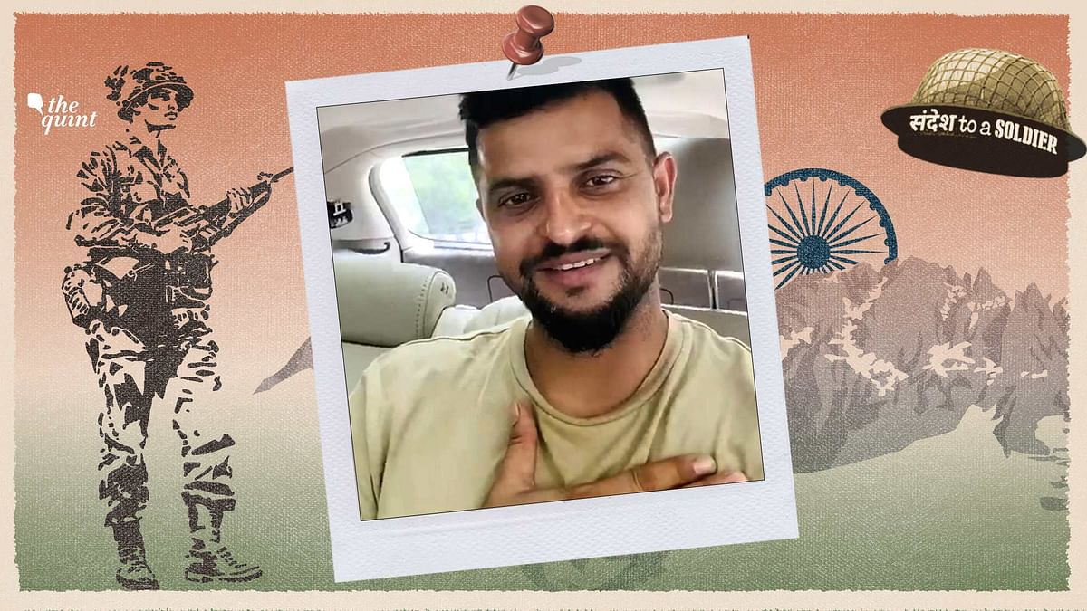 Dear Soldier, We Are Very Grateful For You: Cricketer Suresh Raina