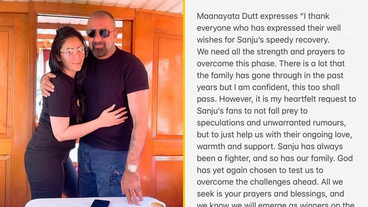 Confident This Too Shall Pass: Maanayata on Sanjay Dutt's Health