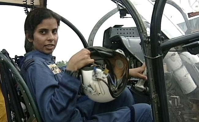 Flight Lieutenant Gunjan Saxena served as a short service commissioned officer in the Air Force.