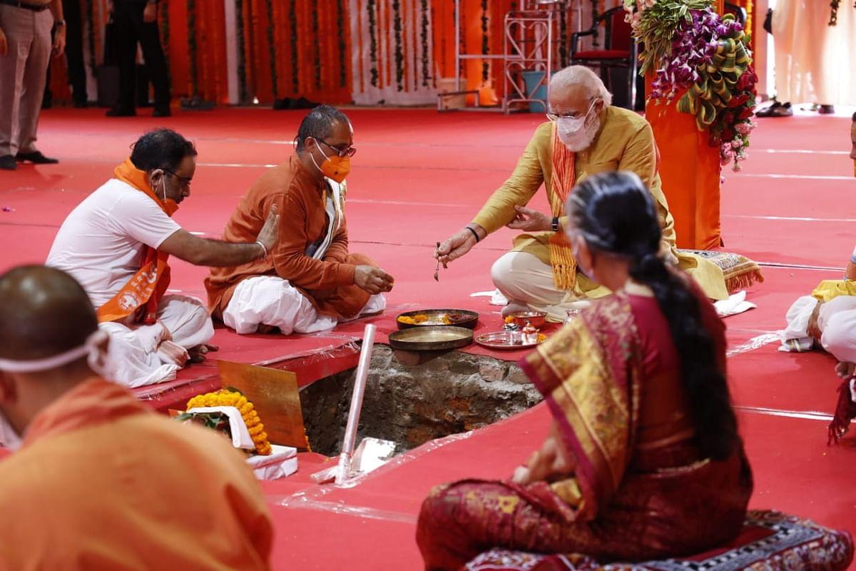 'India is Sentimental Today': PM Modi, UP CM Yogi on Ayodhya Event