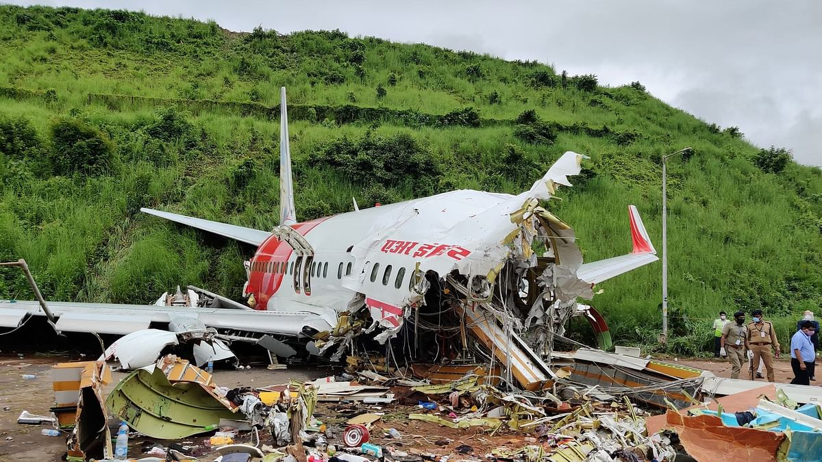 "Air India flight (IX-1344) from Dubai carrying 190 passengers <a href=""https://www.thequint.com/news/india/air-india-express-plane-skids-during-landing-at-karipur-airport-kozhikode-kerala"">skidded off the runway </a>during landing at Karipur Airport in Kozhikode, Kerala on Friday. 18 people were killed in the incident."
