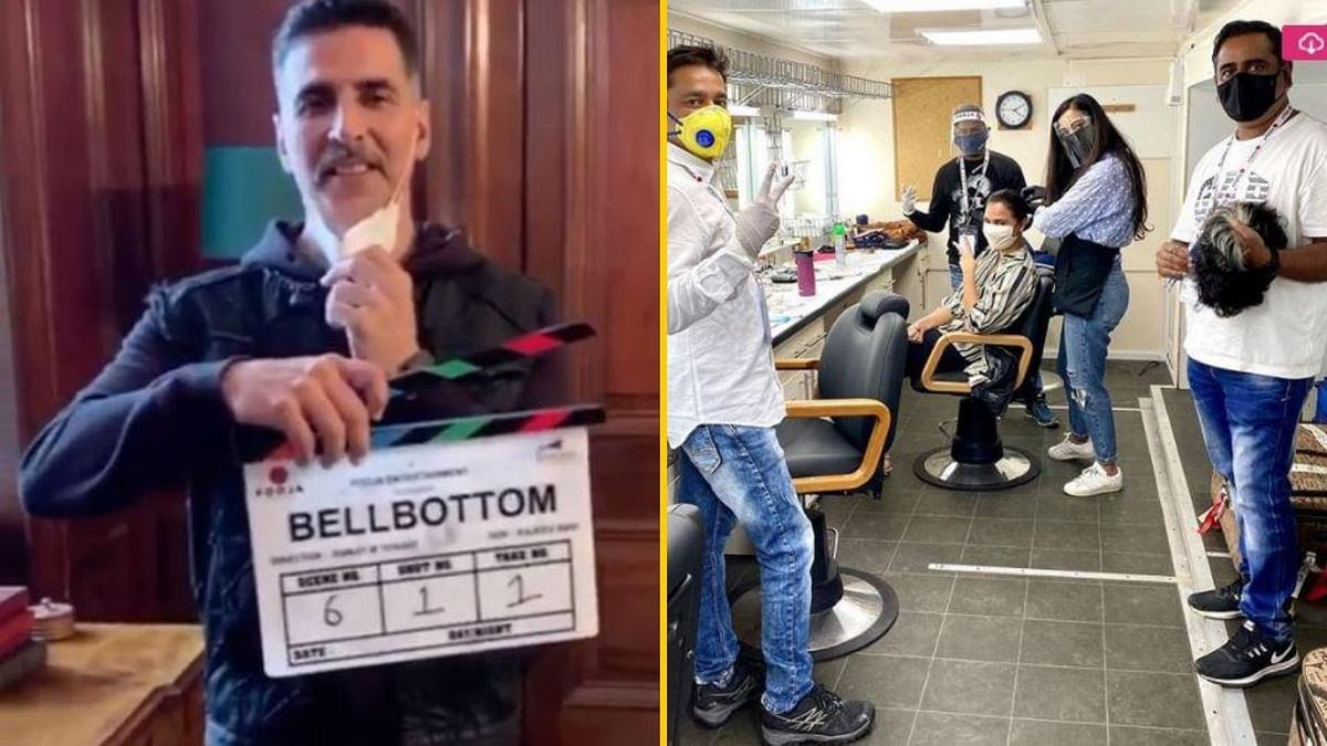 Lights, Camera, Mask On, Action: 'Bell Bottom' Team Begins Shoot