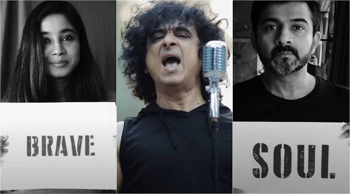 Palash Sen's new song encourages to help each other in this pandemic.