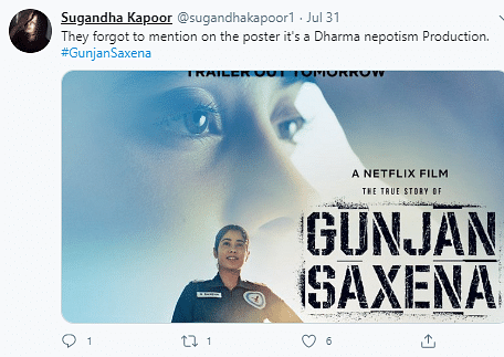 No, Karan Johar's Name Wasn't Removed From 'Gunjan Saxena' Trailer