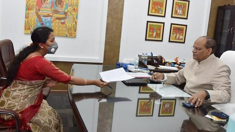 Wife of Late Col Santosh Babu Takes Charge as Deputy Collector