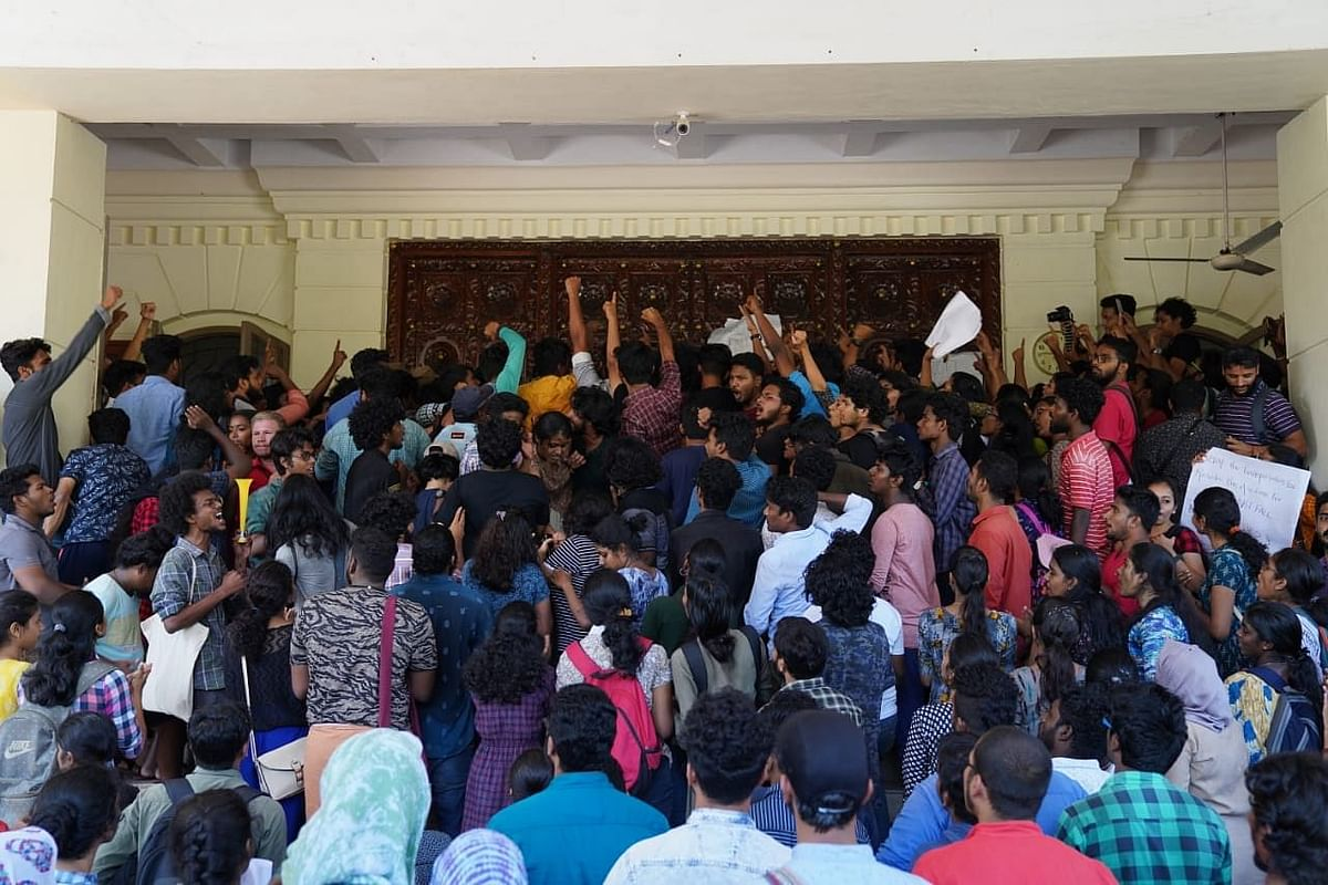 Since 6 February, hundreds of students have undertaken marches, boycotted classes demanding that the fee hike be revoked.