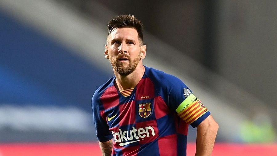 Lionel Messi will be free to negotiate his next move from January.