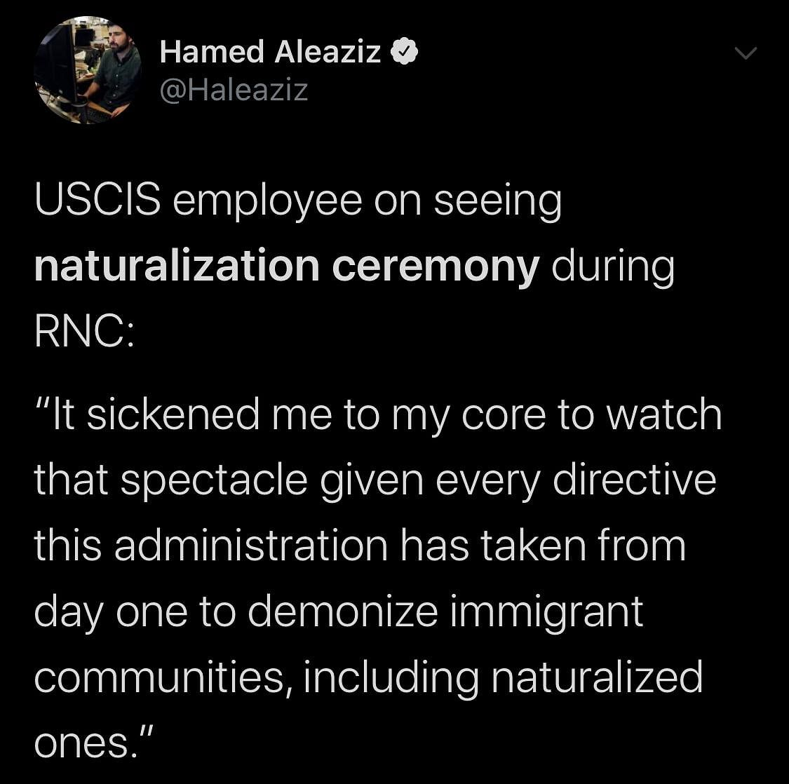 'Fox Blessing a Henhouse': Twitter on Trump's US Citizenship Event