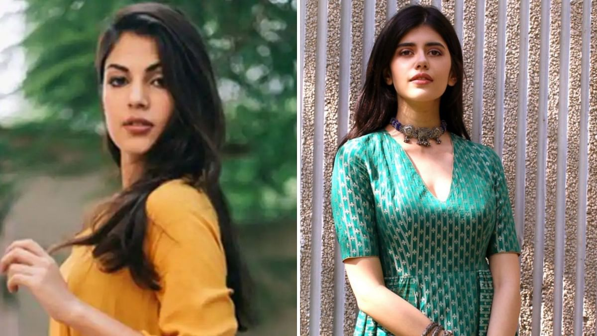Sanjana Sanghi responds to Rhea's claims on 'Me Too' allegations against Sushant Singh Rajput.