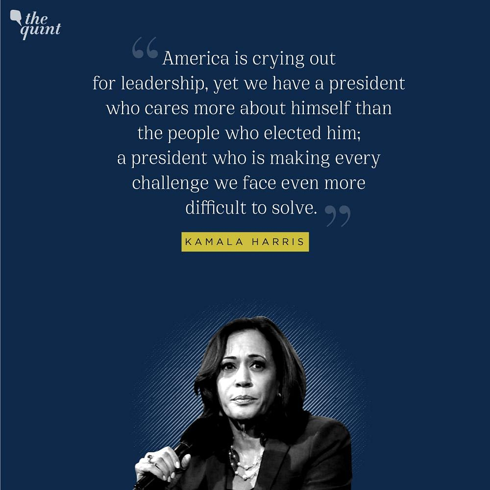 'America Crying Out for Leadership': Biden-Harris in First Address