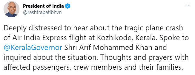 18 Dead as Air India Plane Skids Off Kerala Runway, Snaps in Two