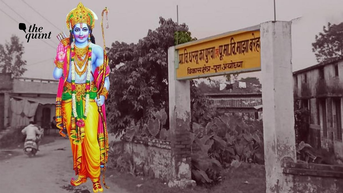 Residents of Ayodhya Village Plead Against 251-m-Tall Ram Statue