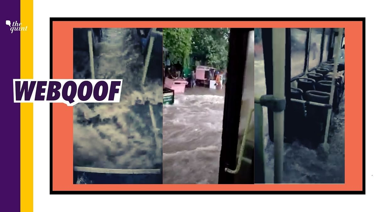 """While it is true that there were <a href=""""https://www.ndtv.com/delhi-news/rain-lashes-parts-of-delhi-waterlogging-reported-in-underpass-in-dwarka-2278649"""">reports of water logging</a> in various parts of Delhi due to the rainfall, the video in question is not from Delhi, but Jaipur."""