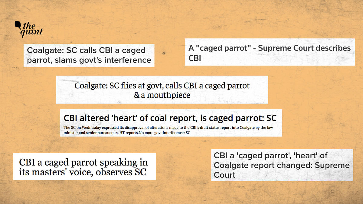 Headlines run by the media after the SC's observation.