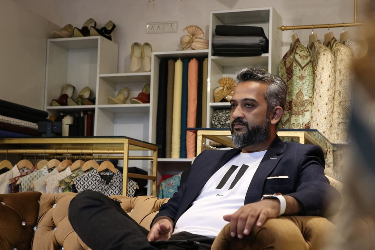 Majid Shaikh, owner of 'Pehnawa by MS'.