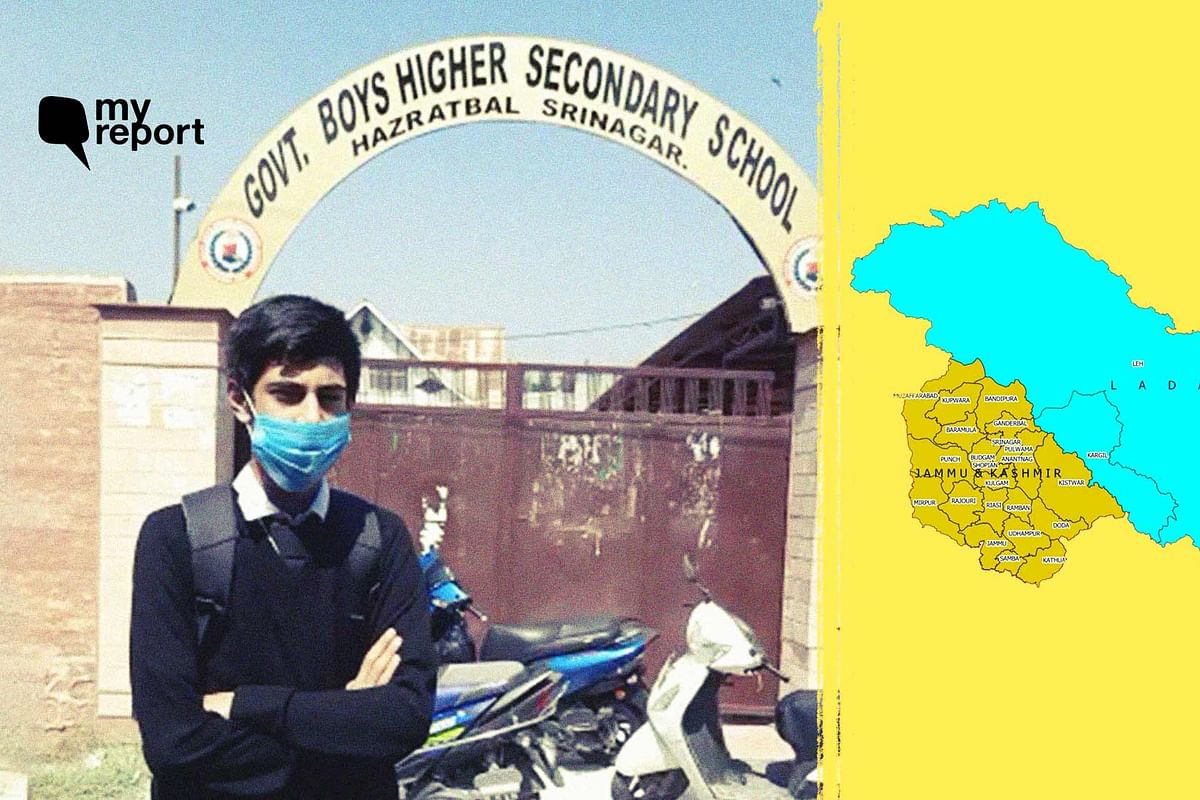 Mohsin Ali from Kashmir vlogs his experience of attending school after a year amid the coronavirus pandemic.