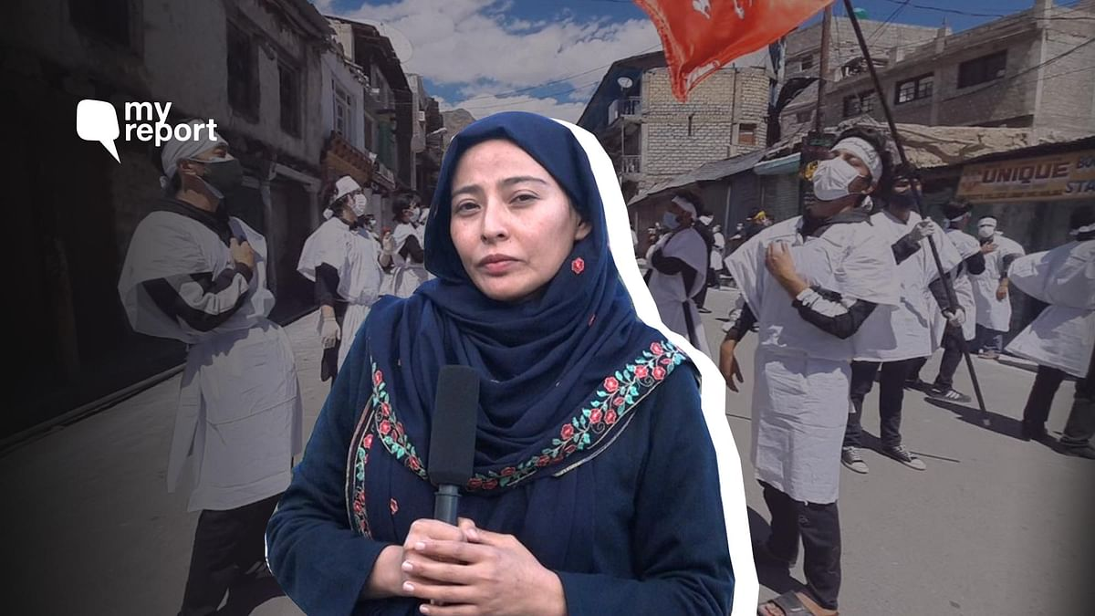 Citizen journalist Archo Fatima reports on how people are observing Muharram in Kargil amid the pandemic.