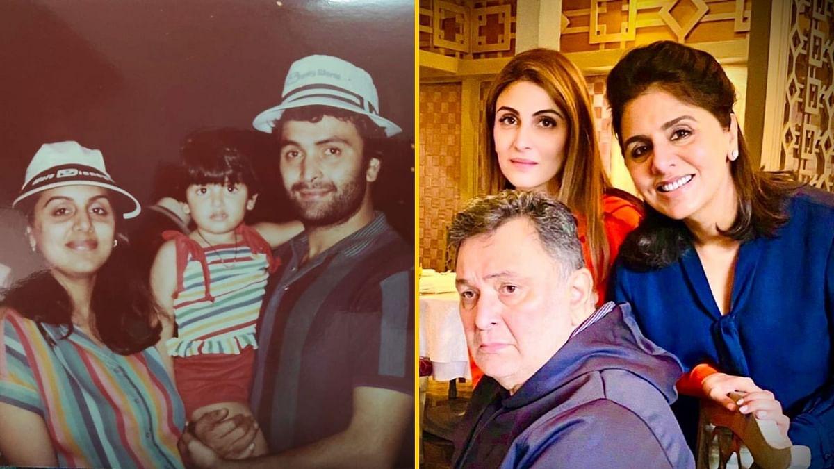 Riddhima Kapoor Sahni remembers Rishi Kapoor on his birthday.