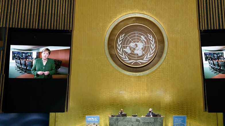 The UN general assembly, is meeting online for the first time in its 75 year history.