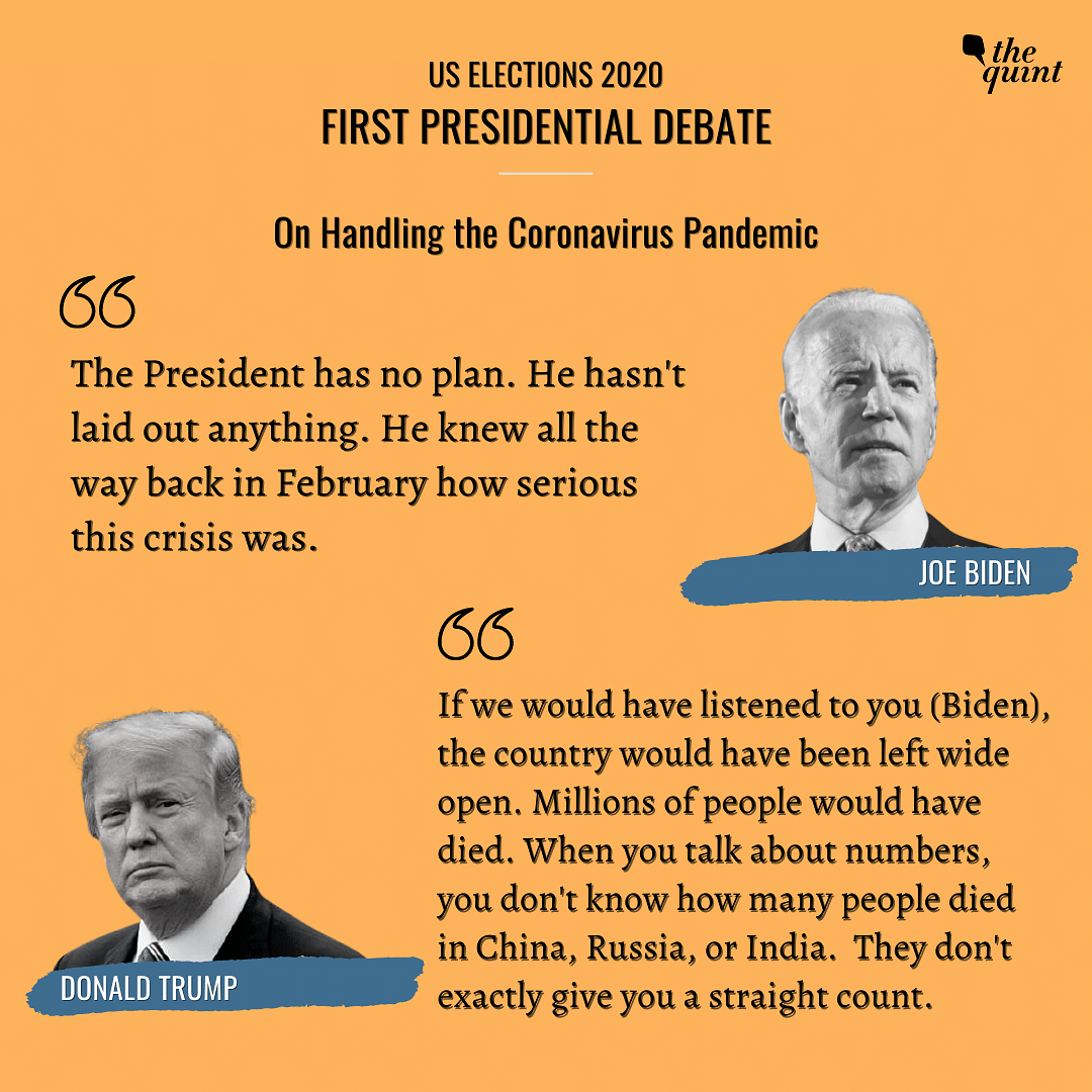 'You're the Worst Prez America Ever Had': Biden to Trump in Debate