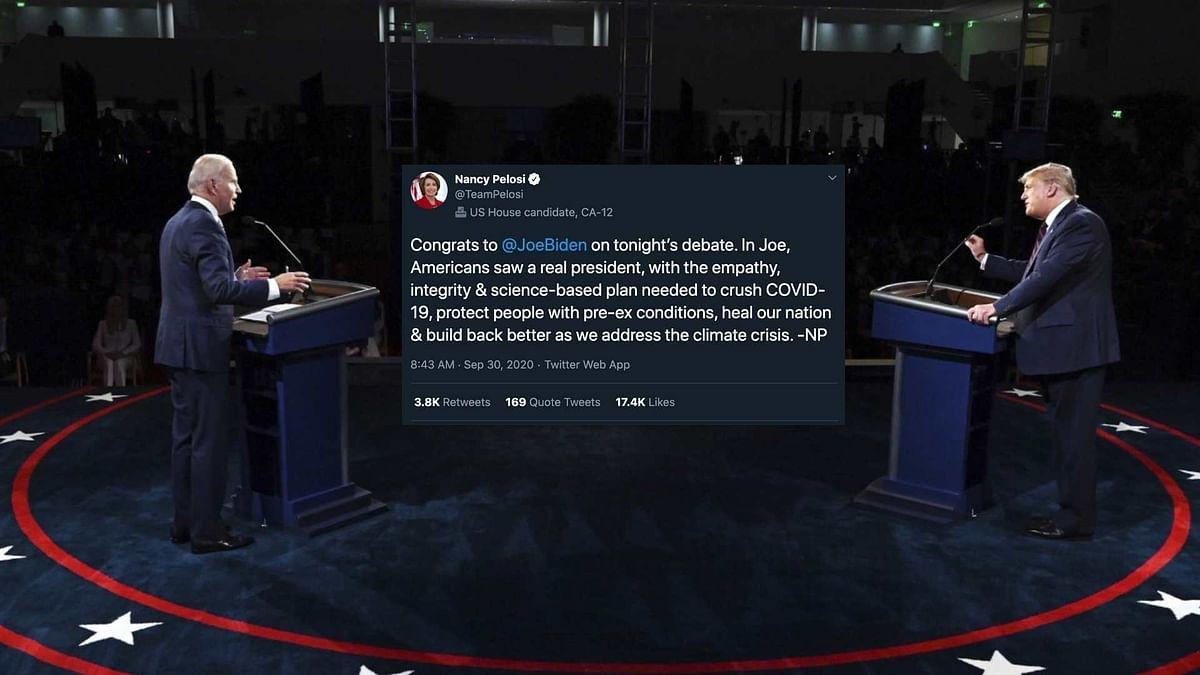 Prominent Democrats Nancy Pelosi, Alexandria Ocasio-Cortez and Elizabeth Warren were quick to react to the debate.