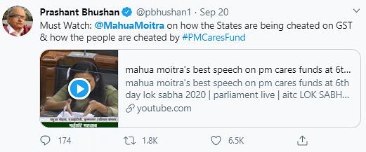 Mahua Moitra's Powerful Parliament Speech Wins The Internet