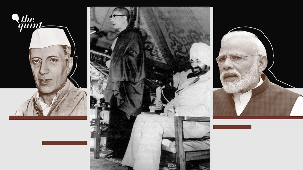 Is Prime Minister Narendra Modi Following Nehru's Playbook in Using the Tibet Card Against China?