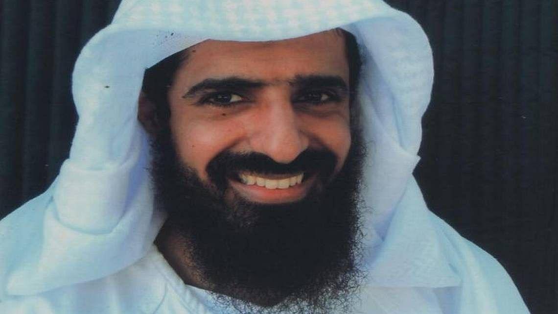 Walid bin Attash, after his capture at Guantanamo Bay.