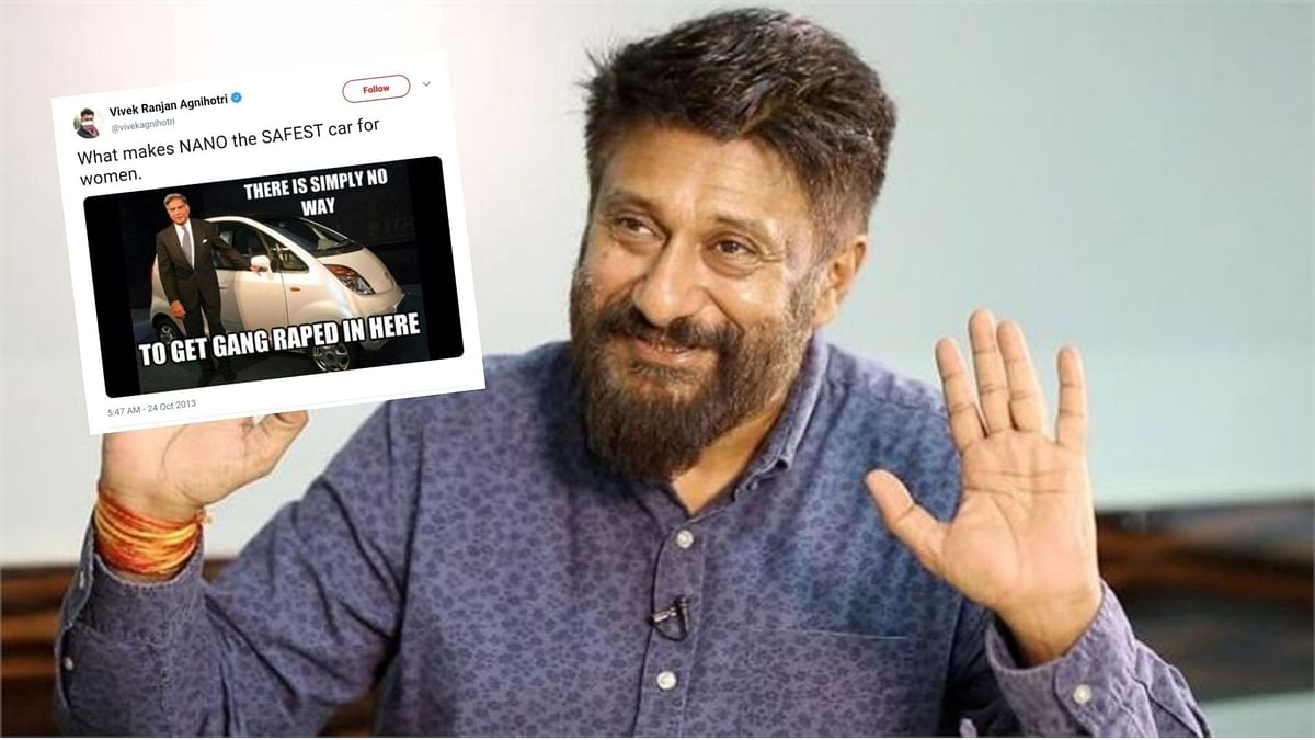 Vivek Agnihotri's old sexist and misogynistic tweets resurface on social media after his appointment to ICCR.
