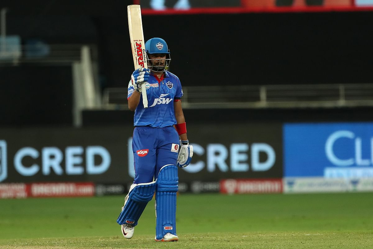 Opener Prithvi Shaw starred with a 43-ball 64 to help DC post 175/3.