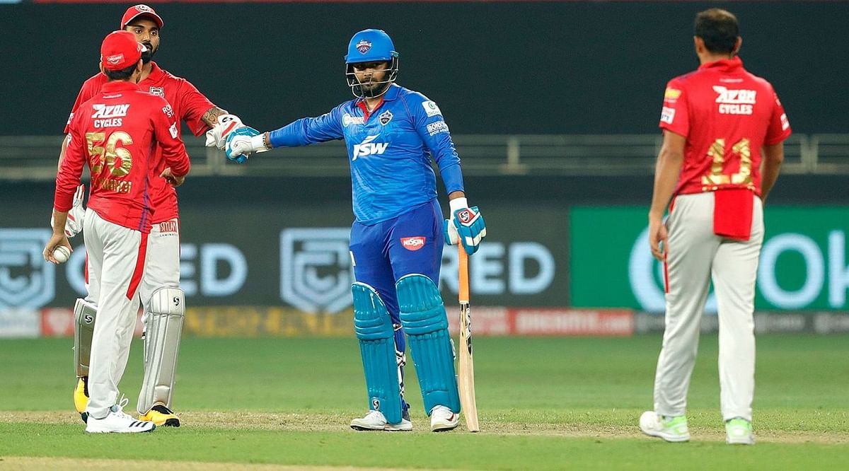 Delhi Capitals made 157-8 in their innings and Marcus Stoinis' two wickets in two balls in last over helped them manage a tie and then the super over