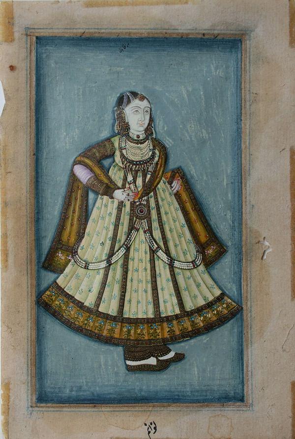 Portrait of Mah Laqa Bai