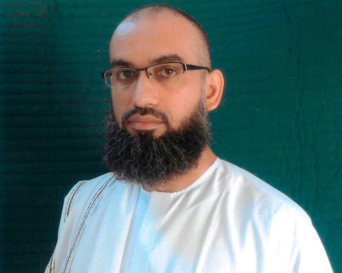 Ammar al-Baluchi, after his capture at Guantanamo Bay.