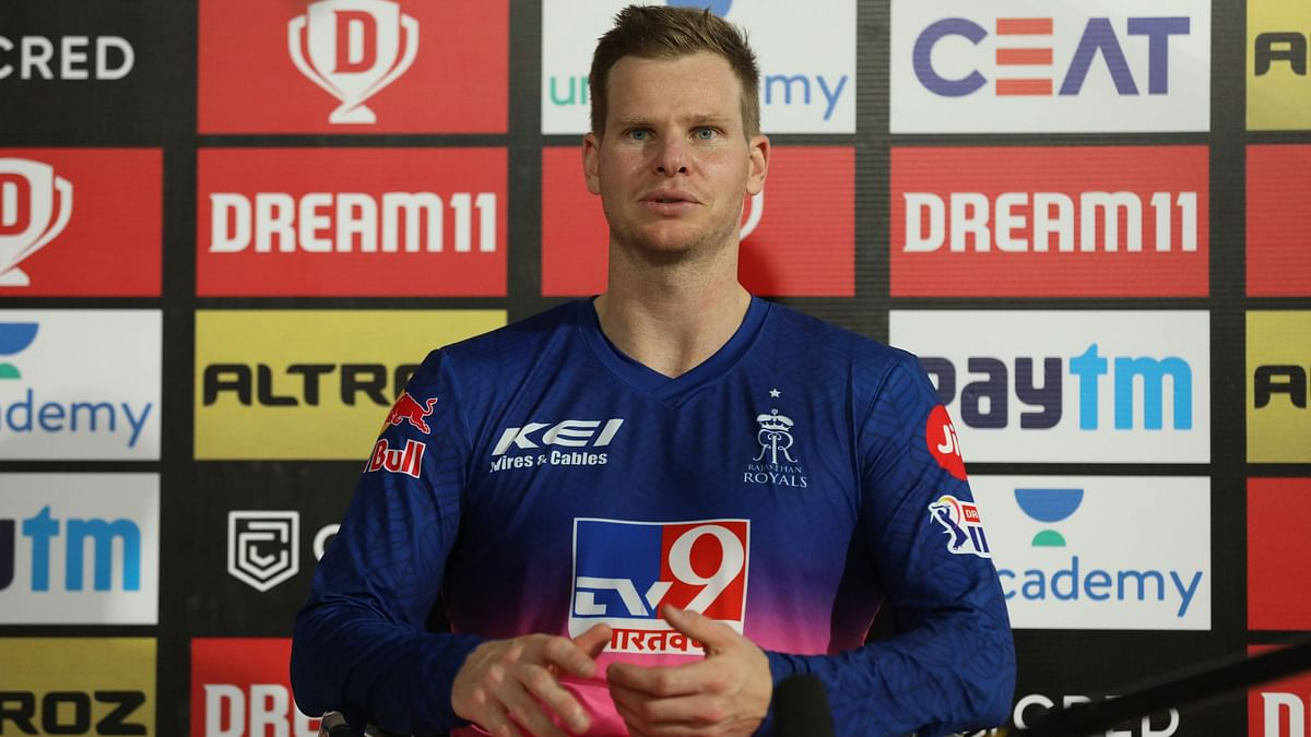 Steve Smith also talked about team's combination when Jos Buttler arrives in the next game