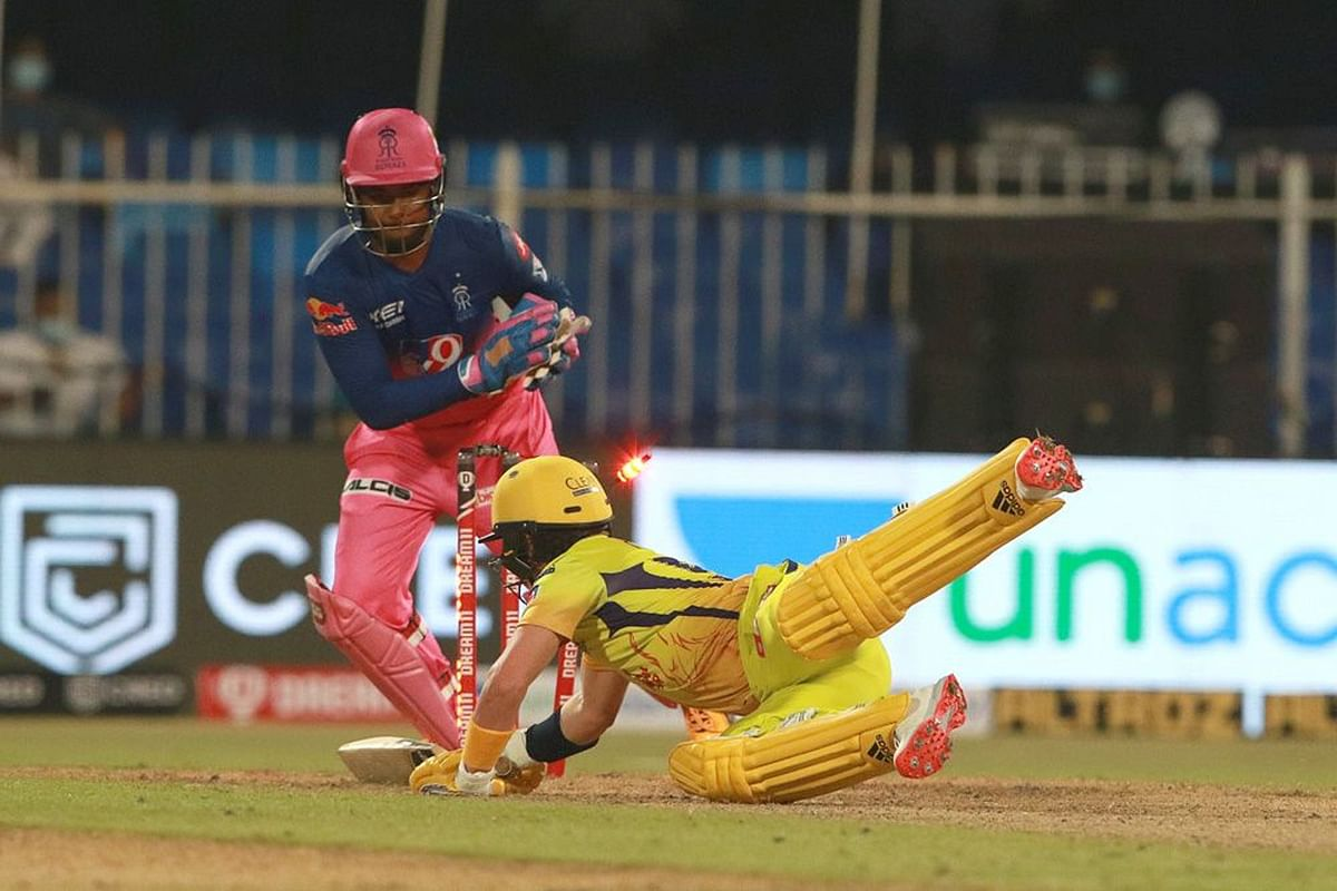 Sanju Samson was the first keeper after almost three and a half matches to effect a stumping and second followed the next ball