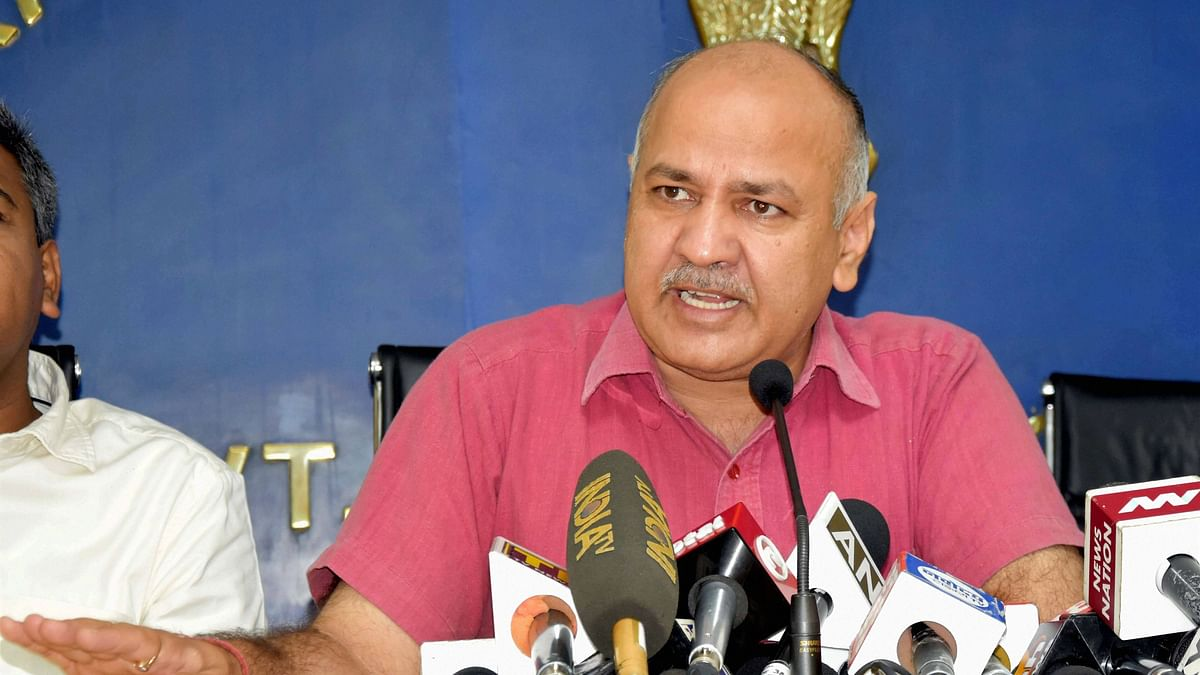 AAP's  Sisodia, On Way to 'Debate', Turned Back At Lucknow  School