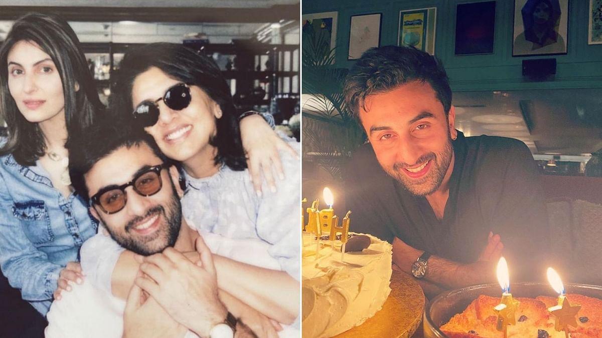 Riddhima Kapoor, Alia Bhatt wish Ranbir Kapoor on his birthday.