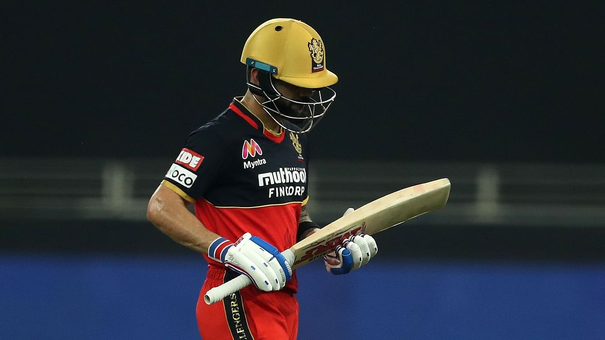 Captain Virat Kohli failed to make a mark once again as Royal Challengers Bangalore posted a massive 201/3 against Mumbai Indians.