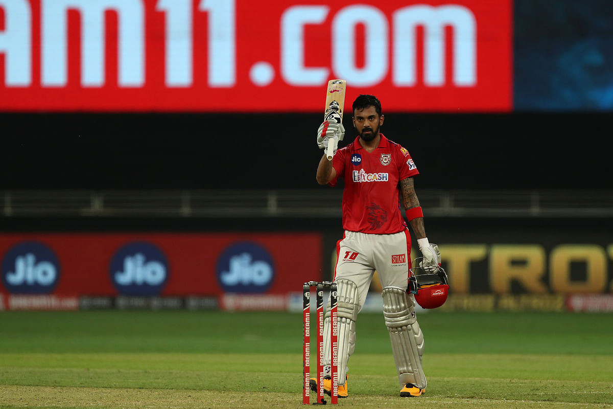 KL Rahul smashed the first century of IPL 2020.