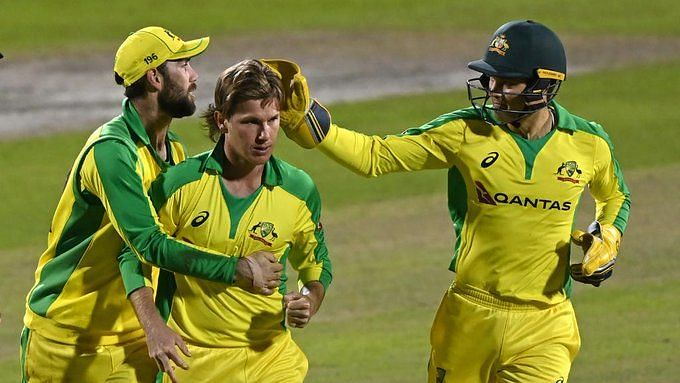 Adam Zampa's four wickets collapses England in the 1st ODI.