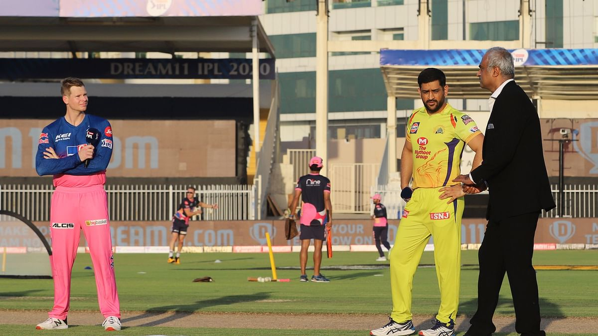 IPL 2020: CSK Win the Toss and Opt to Bowl First Against RR