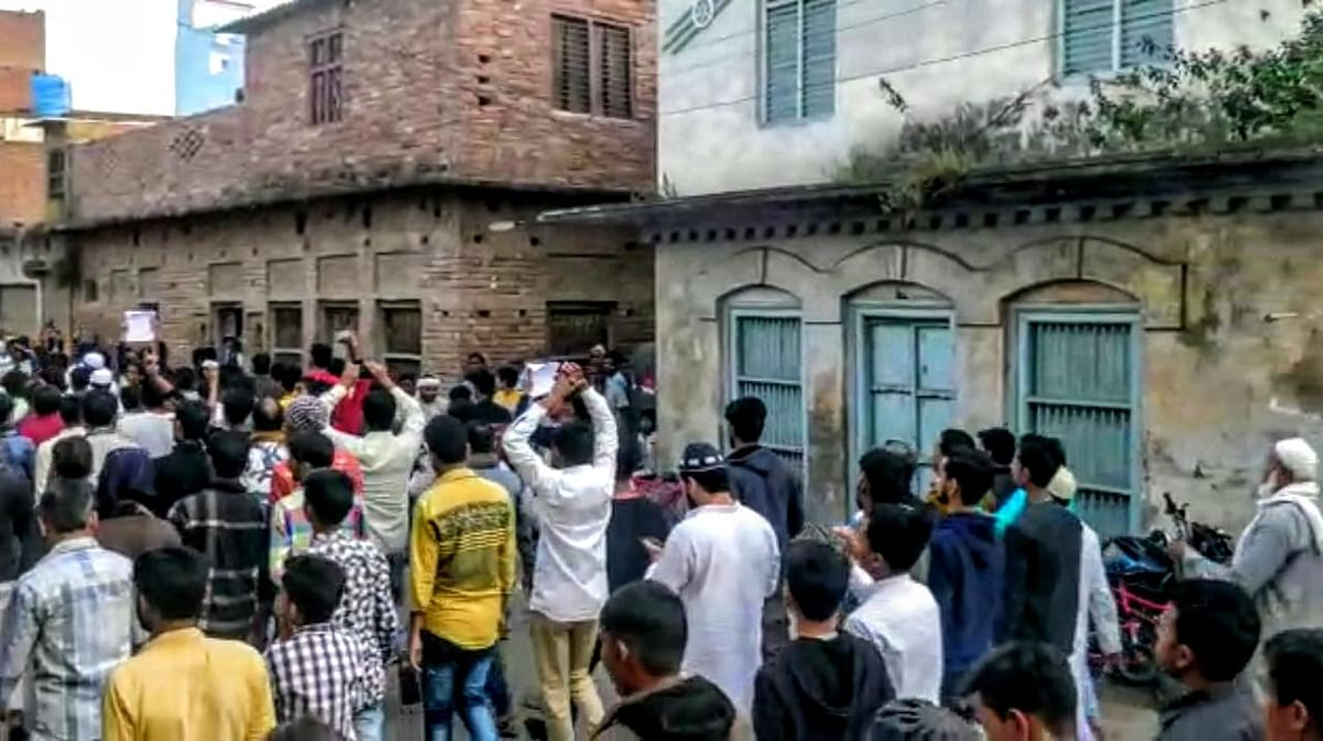 A protest was organised in UP's Mau in solidarity with the students of Jamia Millia Islamia, in the context of the violence on their premises on 15 December, and against the Citizenship Amendment Act.