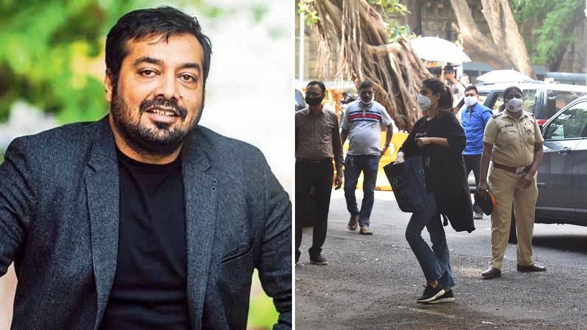 Anurag Kashyap comes out in support of Rhea Chakraborty.