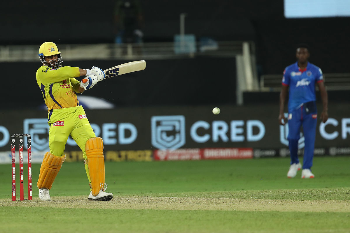 MS Dhoni came in to bat Number 6, but could not rescue the chase.