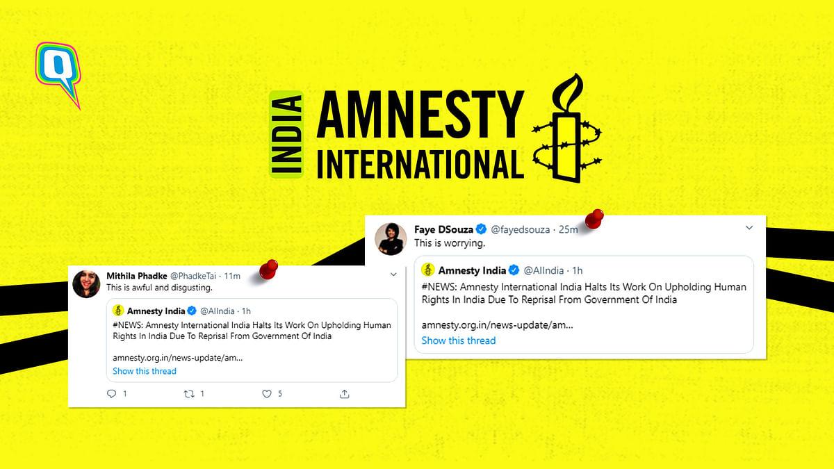 Amnesty International Halts Work In India, Twitter Is Worried
