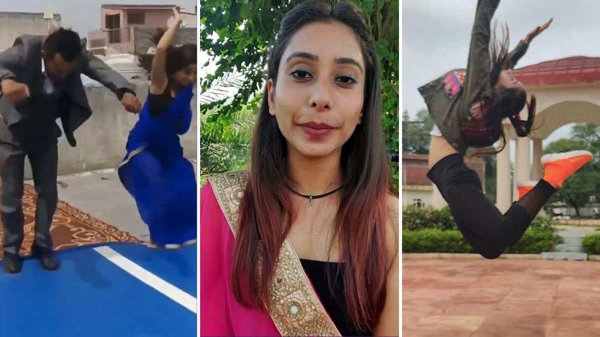 The gymnast has been training for 14 years and hails from Ambala in Haryana.