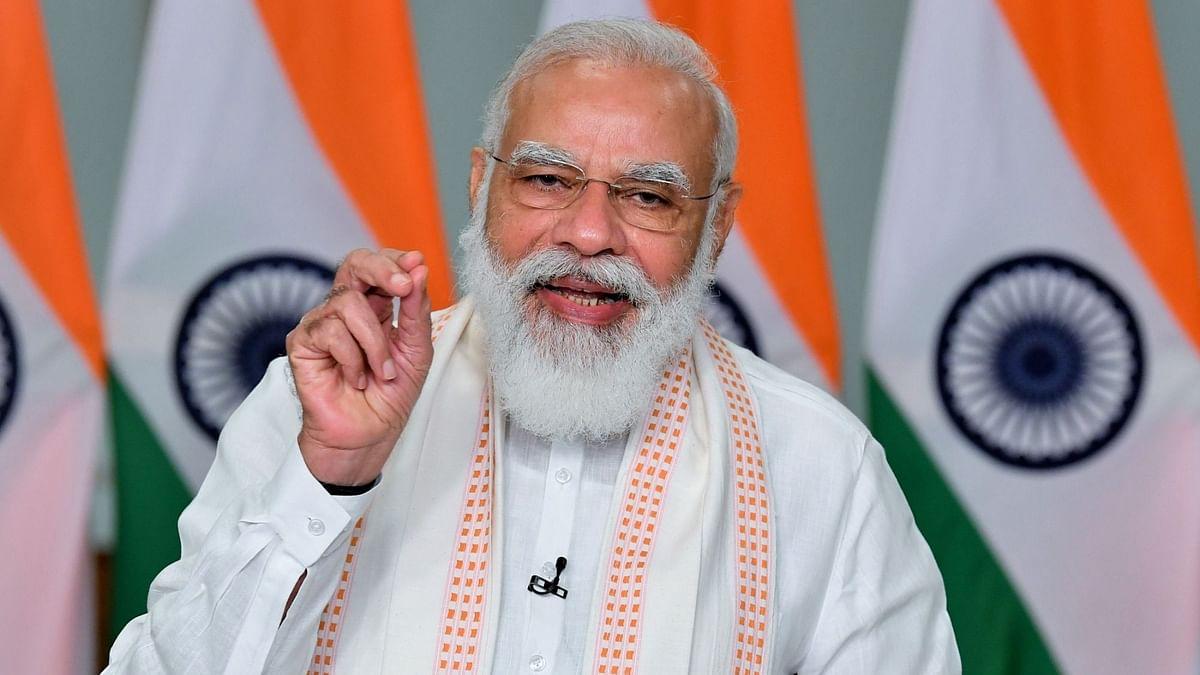 Modi Inaugurates 3 Petrol Projects in Bihar, Endorses Nitish As CM