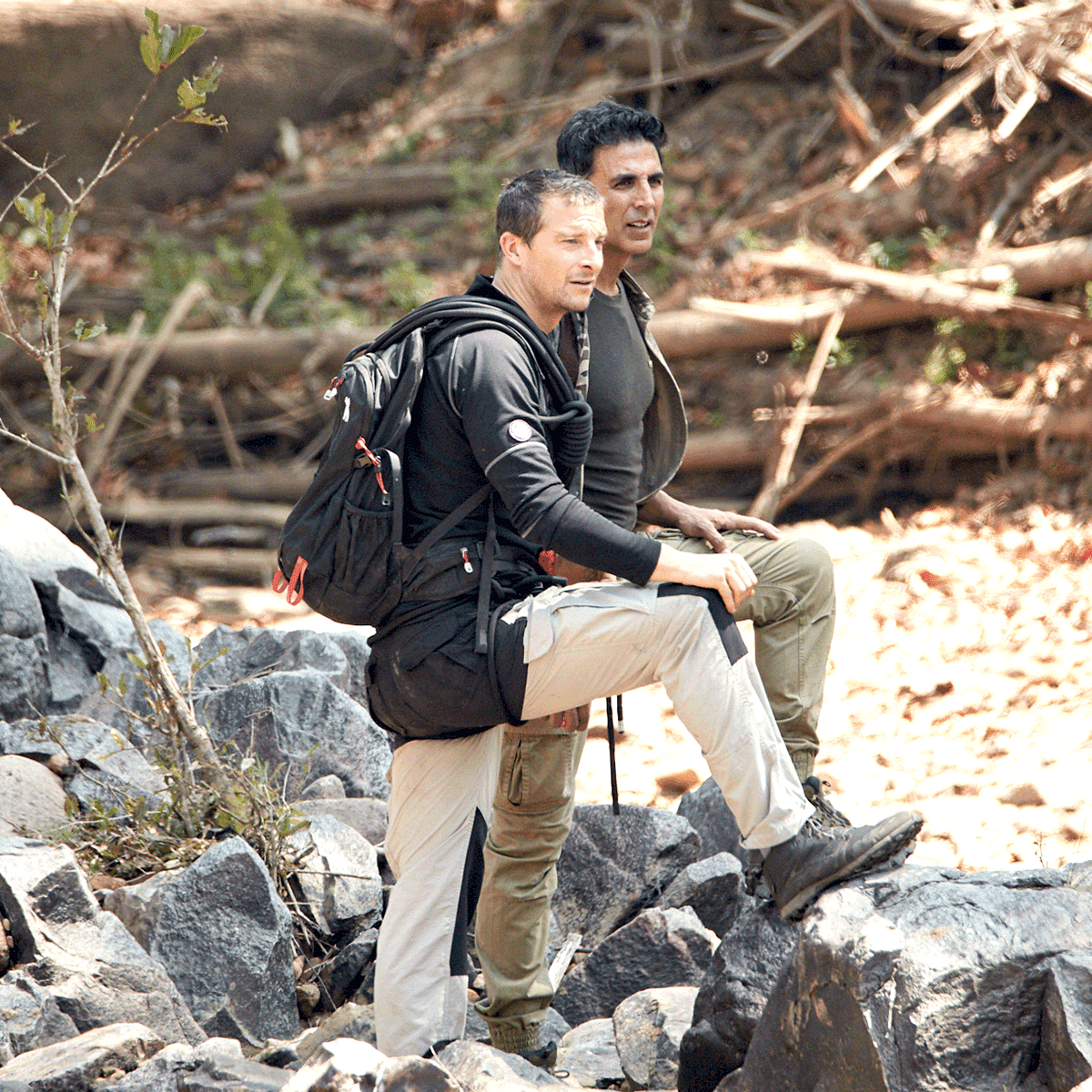Akshay Talks About His Love For Army In New Bear Grylls Video